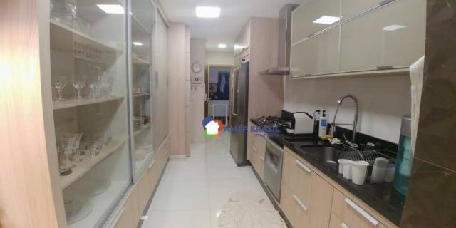 Apartamento com 3 dormitórios à venda, 179 m² por r$ 1.250.000,00 - setor marista - goiâni - Foto 5
