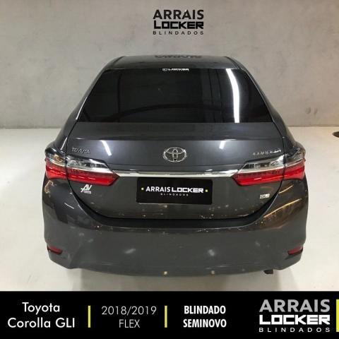 Toyota corolla 2018/2019 1.8 gli upper 16v flex BLINDADO - Foto 5