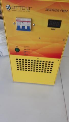 Inversor otto de 4000 watts onda senoidal pura - Foto 2