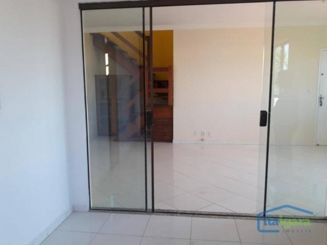 Cobertura com 4 dormitórios para alugar, 200 m²- pitangueiras - lauro de freitas/ba - Foto 9