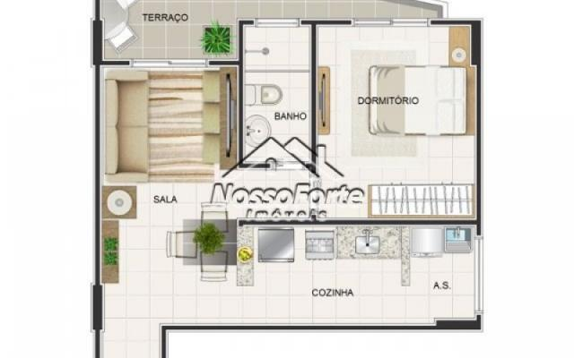 Lançamento Apartamento no Caiçara em Praia Grande - Foto 7