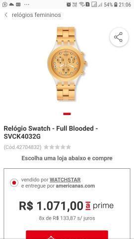303fa63b131 Relogio swatch original usado. tudo ok - Bijouterias