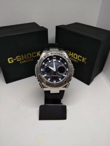 ec1e294bb04 Relógio G Shock Metal Prata (aceito cartão) - Bijouterias