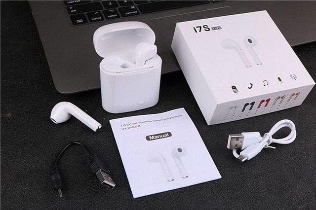 Fone de ouvido i7 tws i7s mini, wireless, bluetooth, headset, com caixa carregadora - Foto 2
