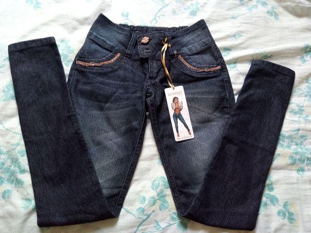 Calça jeans Afront Nova - Foto 2