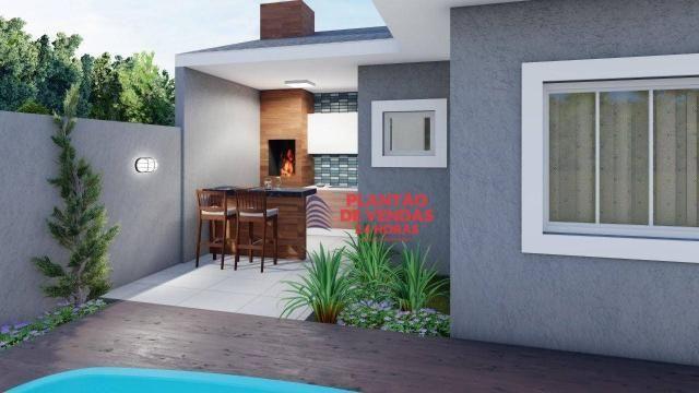 Ótimas casas lineares 3 quartos (opção de piscina e deck) - Enseada das Gaivotas - Rio das - Foto 2