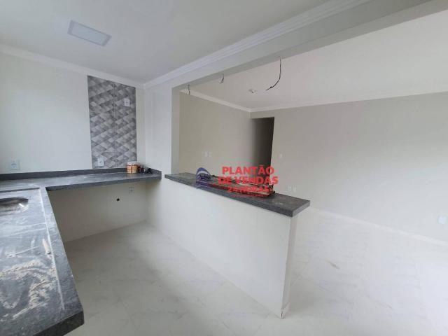 Ótimas casas lineares 3 quartos (opção de piscina e deck) - Enseada das Gaivotas - Rio das - Foto 11