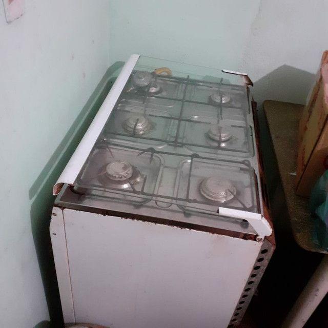 Vendo geladeira e fogao - Foto 5