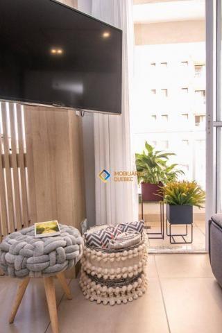 Apartamento com 1 dormitório para alugar, 41 m² por r$ 2.000/mês - ribeirânia - ribeirão p - Foto 3