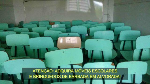 Cadeiras e Mesas Escolares de Fórmica Usadas em Alvorada - Foto 2