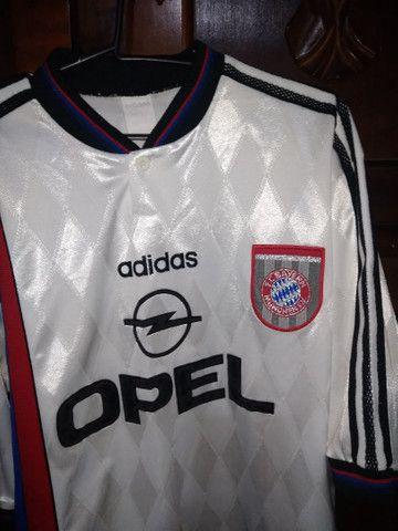 Camisa Oficial Bayern Munchen 1995/1996 - Foto 2