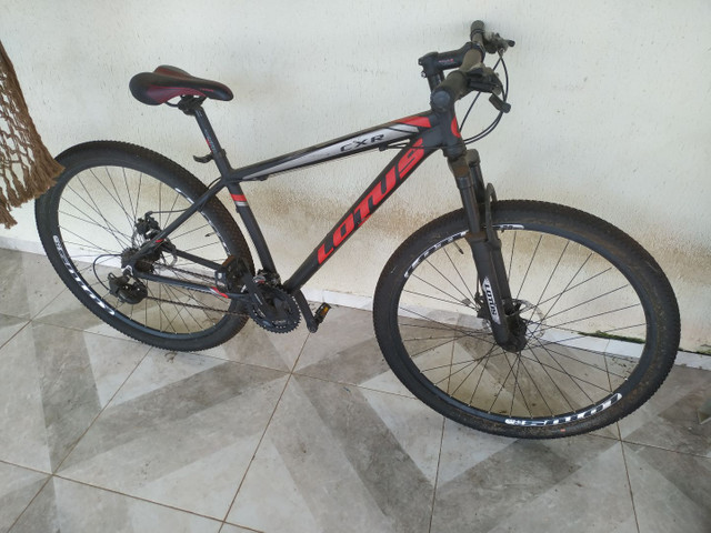 Bicicleta lotus kit shimano completo aro 29