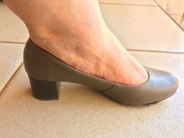 Sapato de salto feminino Ana Flex - Foto 3