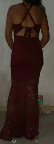 Vestido Marsala - Foto 2