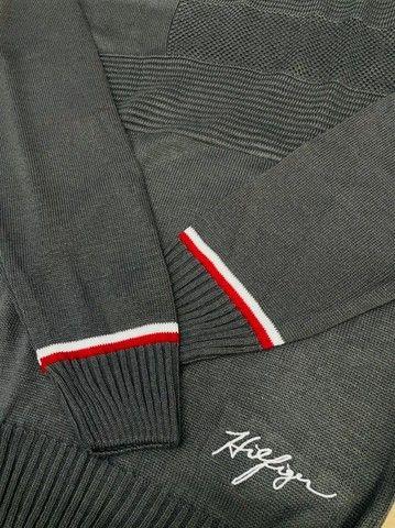 Suéter Tommy Hilfiger Tricot - Foto 4