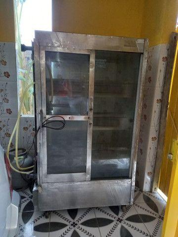 Máquina de frango capacidade de 60 frangos - Foto 2