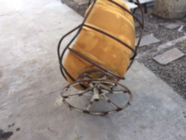 Armação de cadeira giratoria com espuma - Foto 4