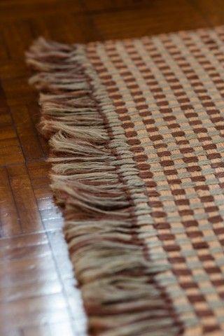 Lindíssimo tapete de algodão grande 148cm x 215cm - Foto 4
