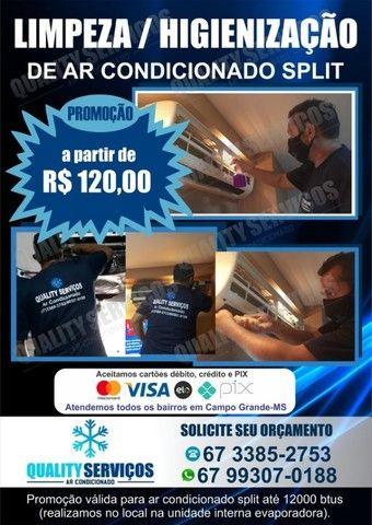 orçamento via whats 99307.0188-Limpeza de ar condicionado Split*Promoção