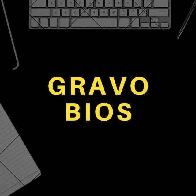 Gravo BIOS de Placa Mãe, Placa de Vídeo e Notebook.