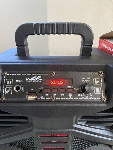 Caixa de som 1000Watts + controle + microfone(Entregamos no mesmo dia) - Foto 4