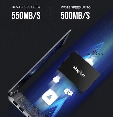 Ssd kingfast F6 Pro 120gb, produto novo à pronta entrega! Com garantia!
