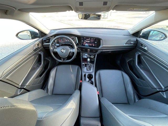VW JETTA COMFORTLINE 250  1.4 TSI COM TETO SOLAR FLEX AUTOMÁTICO 18/19 - JPCAR  - Foto 12
