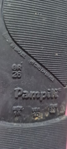 Bota Pampili tam 26 usada 1 vez - Foto 3