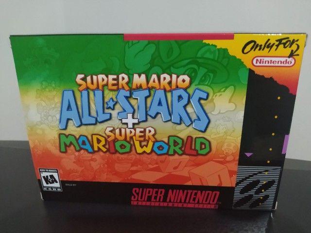Super Mario All-Stars + Mario World