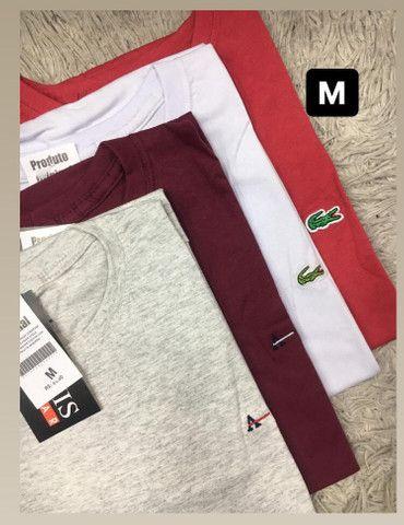 Blusas masculinas básicas - Foto 4