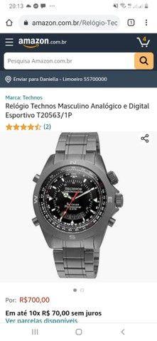 Relógio Technos T20563/1P Masculino - Foto 4
