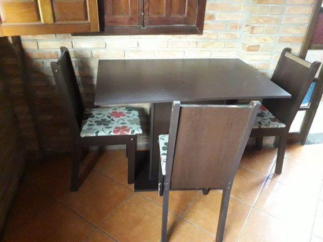 Messa três cadeira  - Foto 2