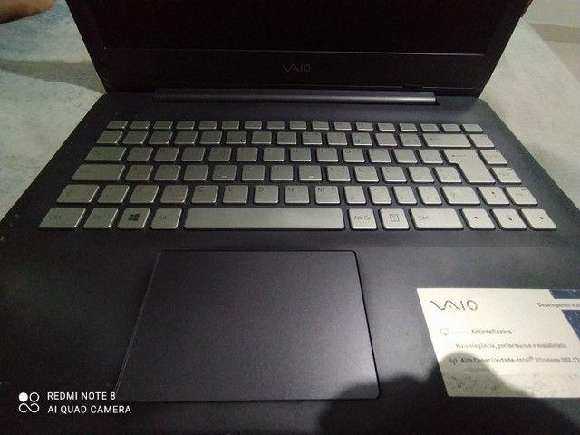 Notebook vaio c14 core i3, 128GB ssd e 4GB ram - Foto 4