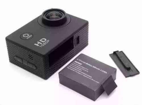 Câmera esportiva go pro 1080p à prova d'água  - Foto 5
