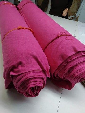 Malha Piqué ecopet  rosa pink - Foto 4