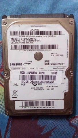 HD Interno Samsung Momentus para Notebook - Foto 2