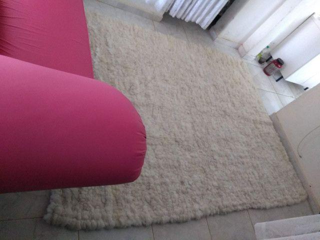 Tapete Lã de carneiro (Legítimo lã de carneiro) - Foto 6