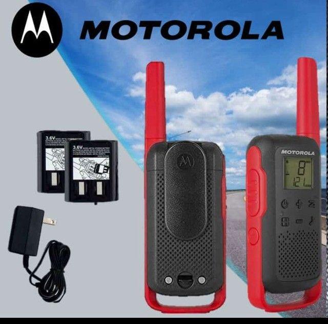 Rádio comunicador Motorola com alcance de 32 km r$680,00 ENTREGO