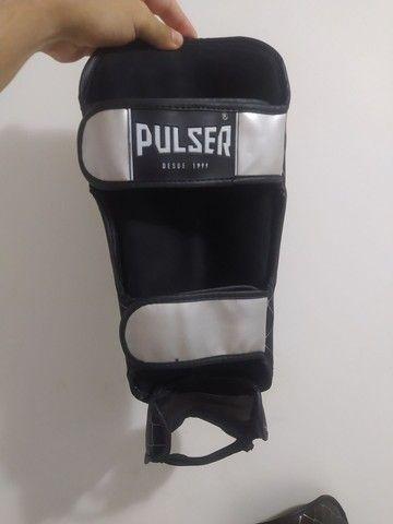 Caneleiras para kickboxing / muay thay - Foto 2