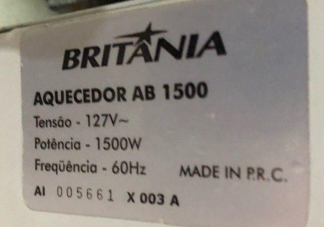 Aquecedor a Óleo AB 1500 - Britânia 110V na caixa ? semi novo - Foto 6