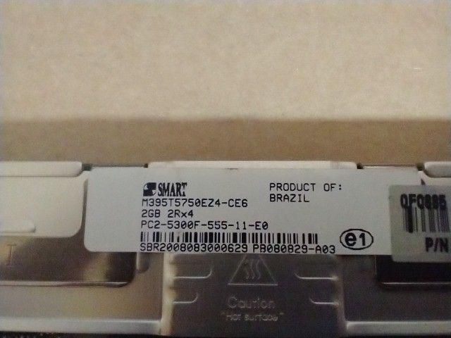 Memórias para servidor DDR2 1GB e 2 GB com dissipador