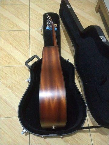Violão Takamine japonês p1dc natural com Case - Foto 6