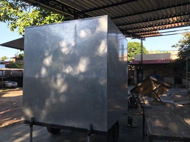 Trailer chapa galvanizada  - Foto 4