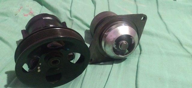 Bomba do hidraulico Ford f4000 f350 e outros e bomba d'gua Ford - Foto 7