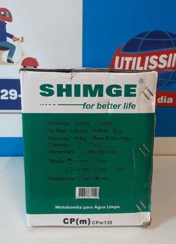 Motobomba claw/ Shimge 0,5 hp ? Entrega grátis - Foto 3