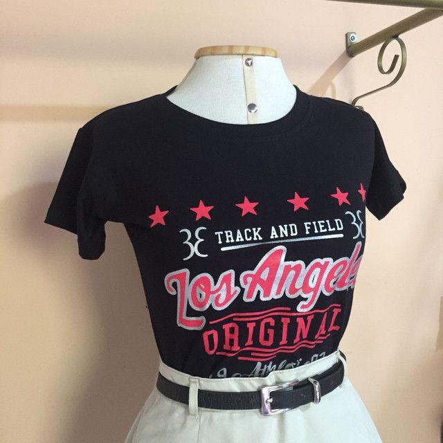 T-Shirts 100%  algodão - Novas