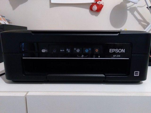 Multifuncional Jato de Tinta Epson XP-214 Wireless