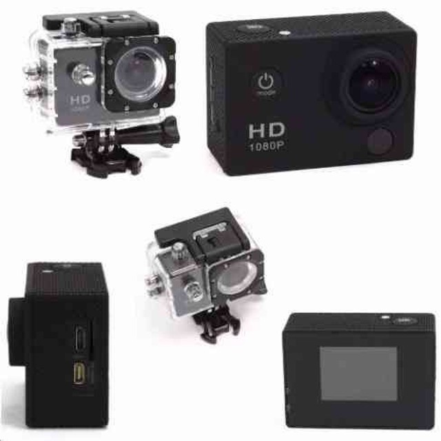 Câmera esportiva go pro 1080p à prova d'água  - Foto 2
