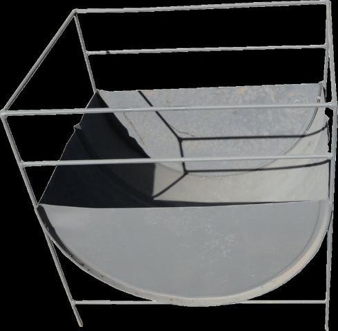 Churrasqueira meio tambor 60x40