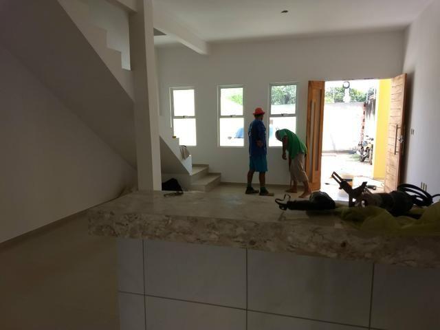 Casas duplex no Eusébio, 3 quartos 4 vagas fino acabamento - Foto 16
